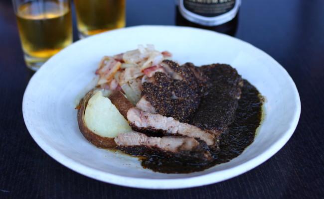 Grilled Black Pepper Pork