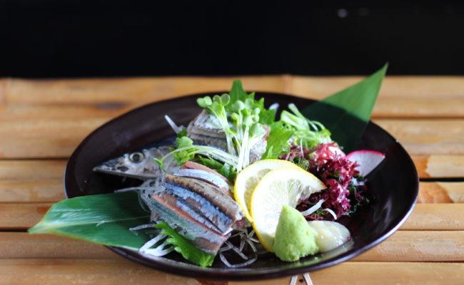 秋刀鱼生鱼片